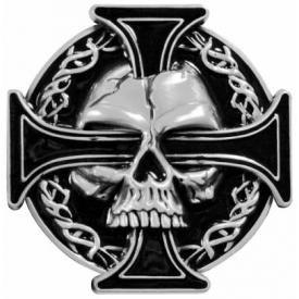 Boucle de Ceinture TÊTE DE MORT - Maltesse Cross