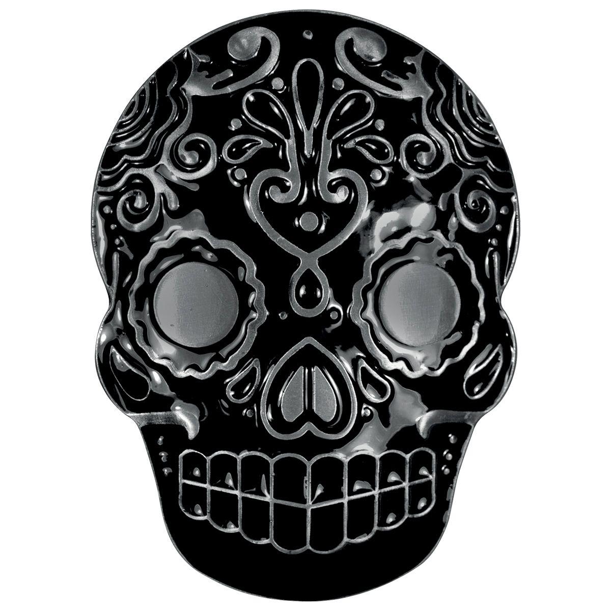 Boucle de Ceinture TÊTE DE MORT - Mexican Skull - Rock A Gogo 27eb91c8143