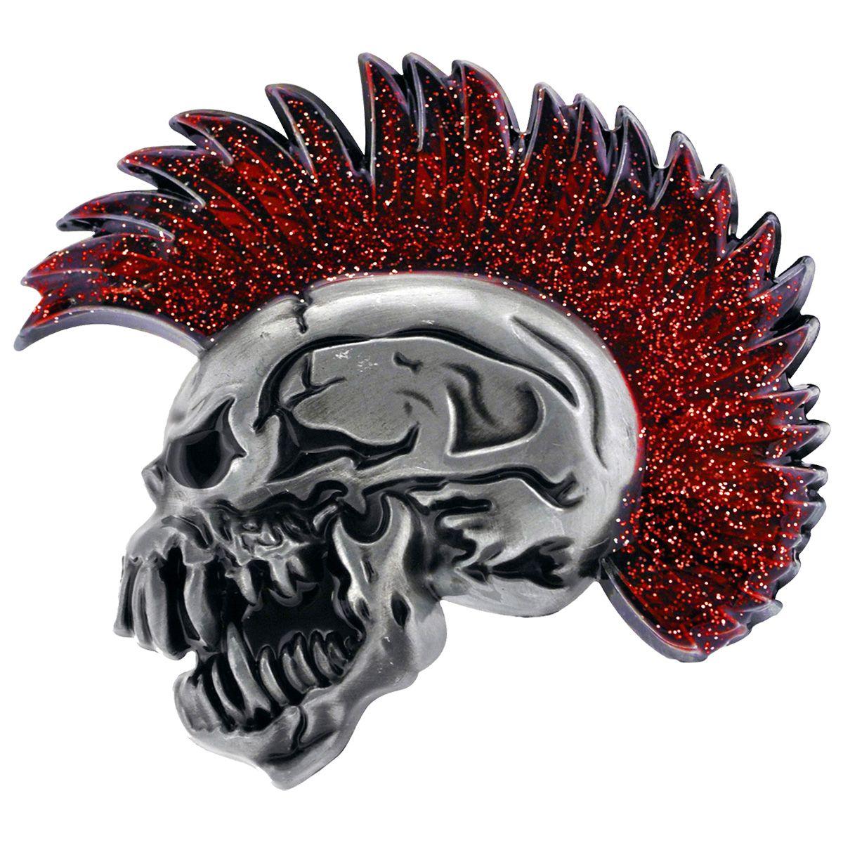 Boucle de ceinture Tête de mort Heavy Metal Punk Gotique Biker Hellfest