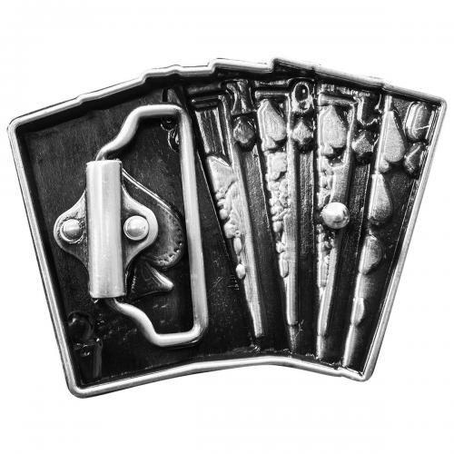 Boucle de Ceinture CARTES À JOUER - Quinte Flush. NEWS. Avant. Avant. Dos.  Dos 0f40bf5bf64