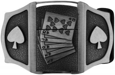 Boucle de Ceinture BRIQUET - Poker - Rock A Gogo e85e90c275d