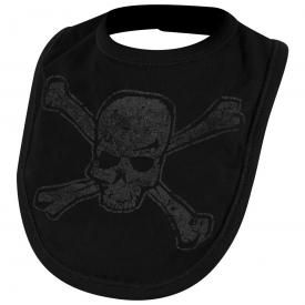 Bavoir DARKSIDE - Distressed Skull