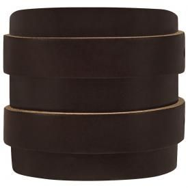 Bracelet de Force CUIR - Double Marron