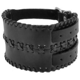 Bracelet de Force CUIR - Apache Double