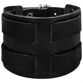 Bracelet de Force CUIR - Double Sangles