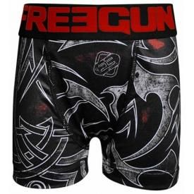Boxer Enfant FREEGUN - Red Tribal Tattoo