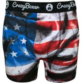 Boxer CRAZY BOXER - Stars And Stripes