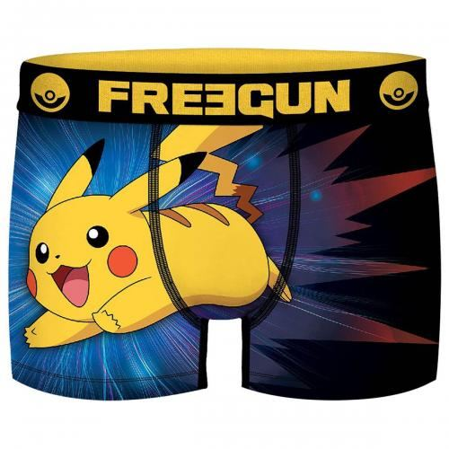 Pok/émon Homme Pikachu Shorts de Bain Multicolore