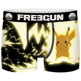 Boxer FREEGUN - Nintendo Pokémon Pikachu Tonnerre