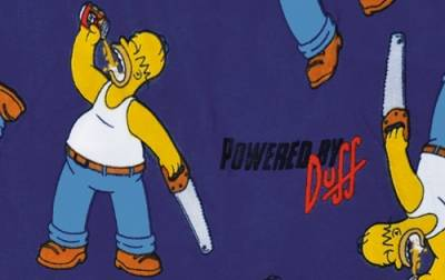 Boxer simpsons powered by duff boxers rock a gogo - Vetement simpson ...
