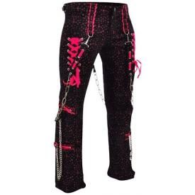 Pantalon Nana CRIMINAL DAMAGE - Star Plat Fuscia