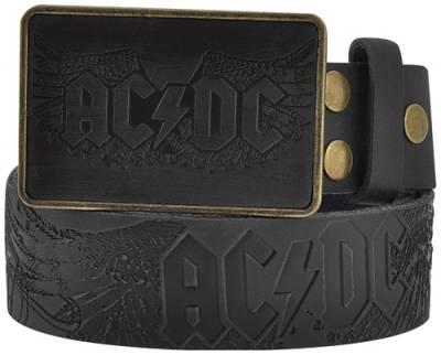 dernière sélection de 2019 incroyable sélection magasiner pour le luxe Ceinture Cuir AC/DC - Wings Logo - Rock A Gogo