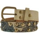 Ceinture Cuir MIAMI INK - Animals Tattoo