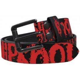 Ceinture Cuir SLIPKNOT - Blood Full Print