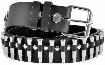 Ceinture CUIR - Bullets Of Steel - Rock A Gogo 384adf60a82