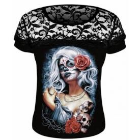 Tee Shirt Femme DARK WEAR - Mexican Witch