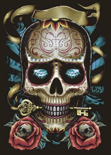 tee shirt femme dark wear mexican skull t shirts rock a gogo. Black Bedroom Furniture Sets. Home Design Ideas