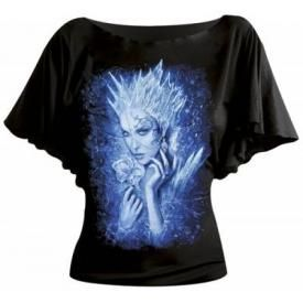 Tee Shirt Femme Spiral DARK WEAR - Ice Queen