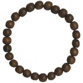 Collier BOIS - Light Brown