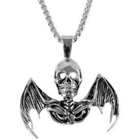 Collier ACIER - Death Bat