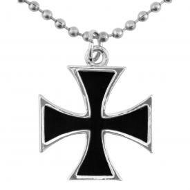 Pendentif + Collier ROCK DADDY - Croix de Malte