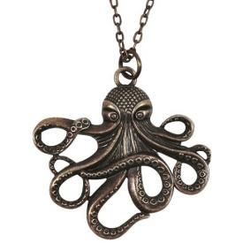 Collier MÉTAL - Copper Octopus