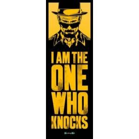 Door Poster BREAKING BAD - The One Who Knocks