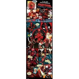 Door Poster DEADPOOL - Panel