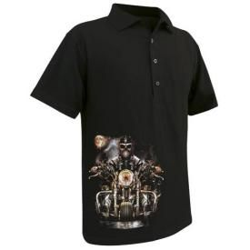 Polo Mec DARK WEAR - Skull Chapter Glow