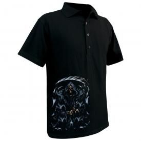 Polo Homme DARK WEAR - Tribal Reaper Glow