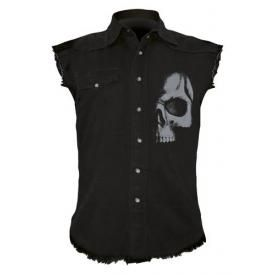 Chemise DARK WEAR - Shadow Skull