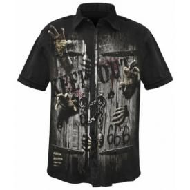 Chemise Spiral DARK WEAR - Zombie Unleashed