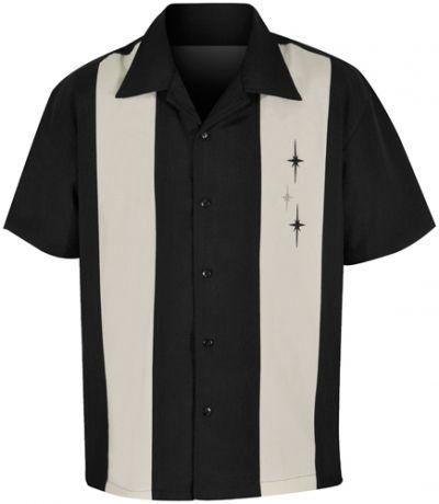 chemise steady clothing 3 stars panel chemises rock a gogo. Black Bedroom Furniture Sets. Home Design Ideas