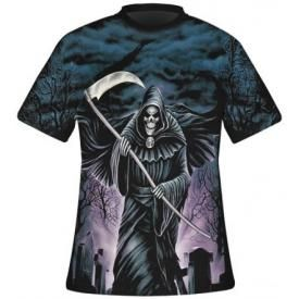 T-Shirt Mec DARK WEAR - Cemetary All Over