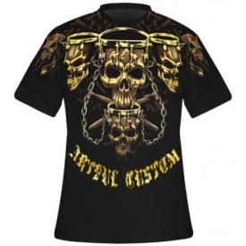 T-Shirt Spécial DARK WEAR - Drum Skull