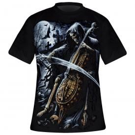 T-Shirt Mec Spiral DARK WEAR - Symphony Of Death