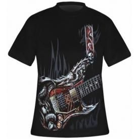 T-Shirt Mec Spiral DARK WEAR - Air Guitar