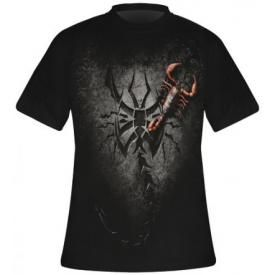 T-Shirt Mec Spiral DARK WEAR - Tribal Scorpion