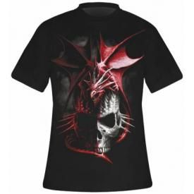 T-Shirt Mec Spiral DARK WEAR - Serpent Infection