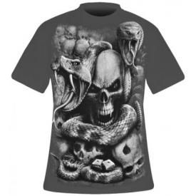 T-Shirt Mec Spiral DARK WEAR - Snake Eyes