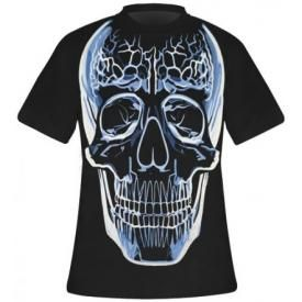 T-Shirt Mec DARK WEAR - Glass Skull