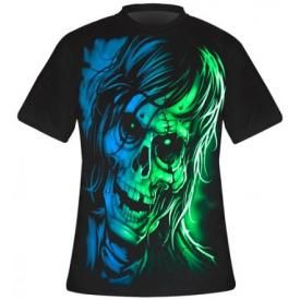 T-Shirt Mec DARK WEAR - Zombie Face