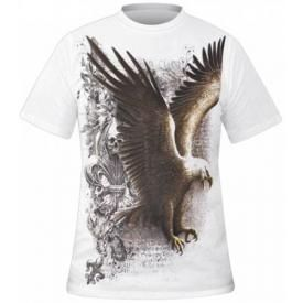 T-Shirt Mec Spiral DARK WEAR - Wings Of Freedom