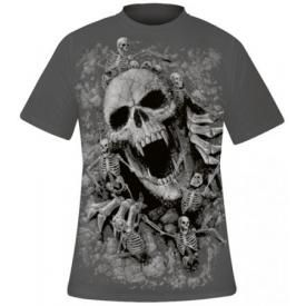 T-Shirt Mec Spiral DARK WEAR - Skulls Cove