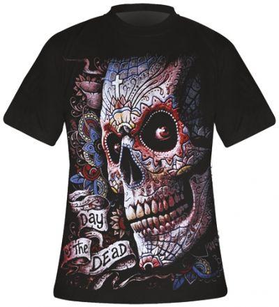 t shirt mec spiral dark wear el muerto t shirts rock. Black Bedroom Furniture Sets. Home Design Ideas