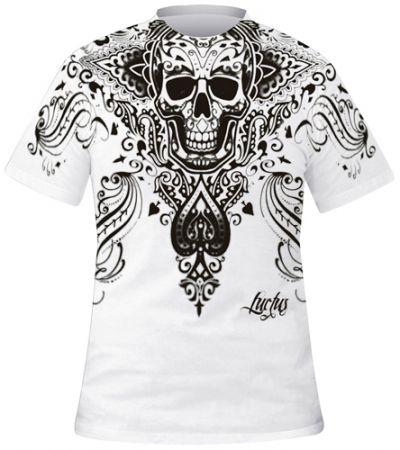 t shirt mec dark wear spade skull t shirts rock a gogo. Black Bedroom Furniture Sets. Home Design Ideas