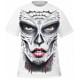 T-Shirt Mec Spiral DARK WEAR - Death Mask