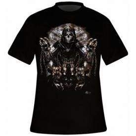 T-Shirt Mec DARK WEAR - Pierced Death Glow