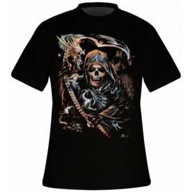 T-Shirt Mec DARK WEAR - Reaper Is Coming Glow