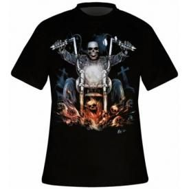 T-Shirt Mec DARK WEAR - Hellrider Glow